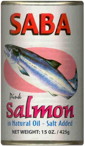 SABA PINK SALMON IN NATURAL OIL