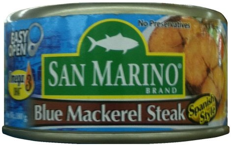 SAN MARINO BLUE MACKEREL STEAK