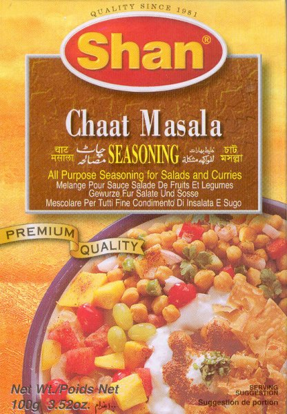 SHAN FOODS CHAAT MASALA SEASONING FOR SALADS & CURRIES