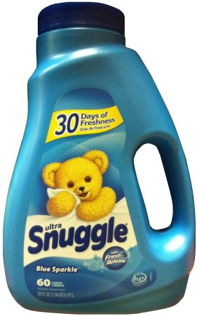 SNUGGLE BLUE SPARKLE ULTRA LIQUID FABRIC SOFTENER