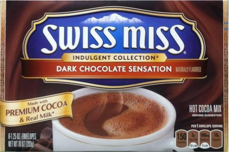 SWISS MISS DARK CHOCOLATE SENSATION HOT COCOA MIX