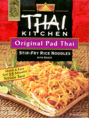 THAI KITCHEN PAD THAI STIR-FRY RICE NOODLES WITH SAUCE