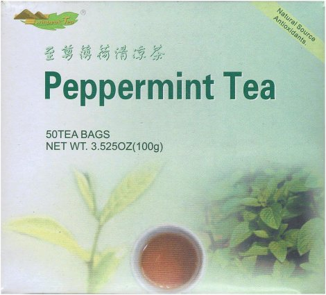 TWIN PEAK PEPPERMINT TEA