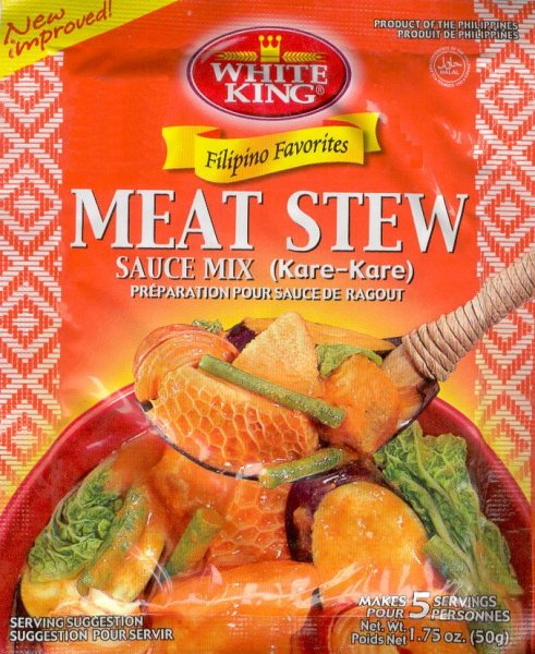 WHITE KING MEAT STEW SAUCE MIX KARE-KARE