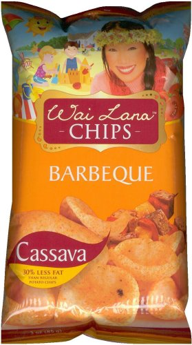 WAI LANA CASSAVA CHIPS BARBEQUE