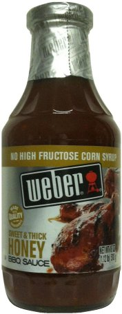 WEBER SWEET & THICK HONEY BBQ SAUCE