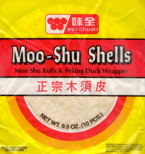 WEI CHUAN MOO-SHU SHELLS & PEKING DUCK WRAPPERS