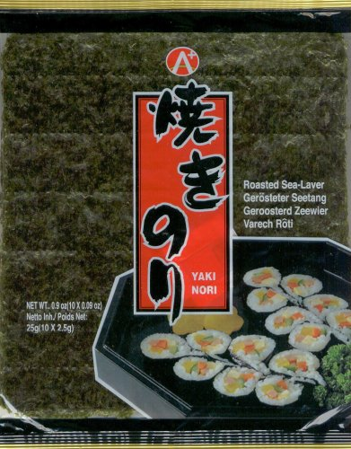 YAKI ROASTED SEAWEED FOR SUSHI