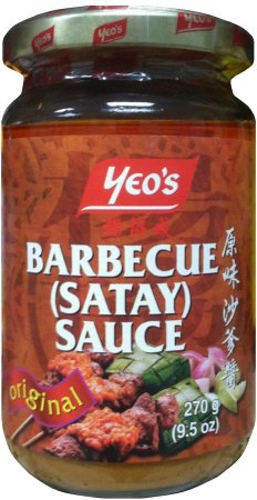 YEO'S BARBECUE SATAY SAUCE ORIGINAL