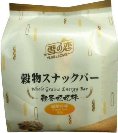 YUKI & LOVE WHOLE GRAINS ENERGY BAR ORIGINAL FLAVOR