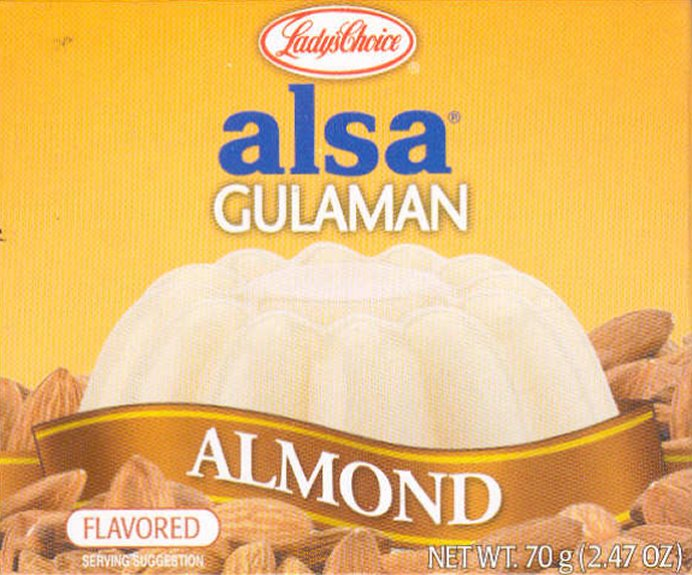 LADY'S CHOICE ALSA GULAMAN ALMOND FLAVORED