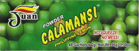 JUAN POWDER CALAMANSI PHILIPPINE LEMON