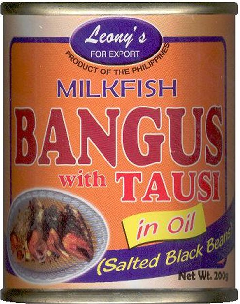 LEONY'S MILKFISH BANGUS WITH TAUSI SALTED BLACK BEANS IN OIL