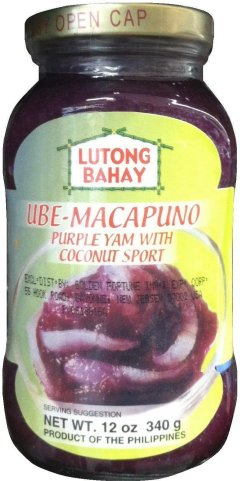 LUTONG BAHAY UBE MACAPUNO PURPLE YAM WITH COCONUT SPORT