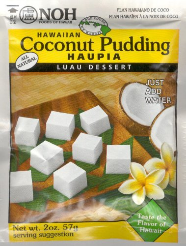 NOH HAWAIIAN COCONUT PUDDING