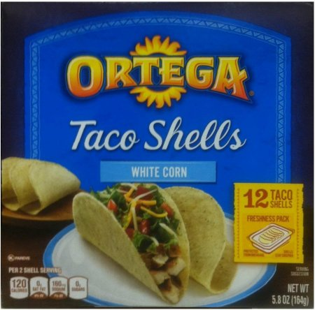 ORTEGA TACO SHELLS WHITE CORN