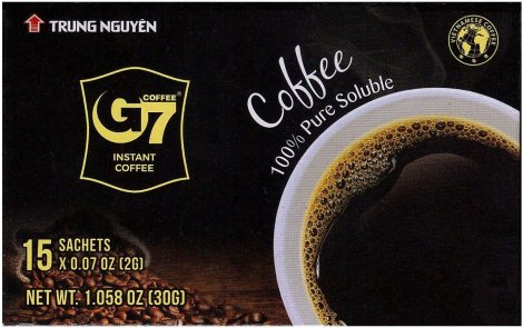 TRUNG NGUYEN G7 INSTANT COFFEE