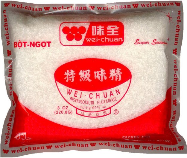 WEI-CHUAN SUPER SEASONING MONOSODIUM GLUTAMATE